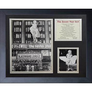 Legends Never Die Marilyn Monroe - Itch Marquee Framed Memorabili