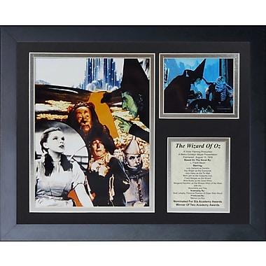 Legends Never Die Wizard of Oz - Collage Framed Memorabili