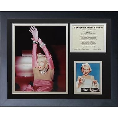 Legends Never Die Marilyn Monroe - Blondes Framed Memorabili