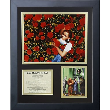 Legends Never Die Wizard of Oz - Dorothy Poppies Framed Memorabili
