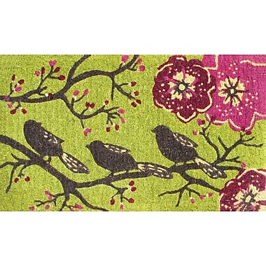 Evergreen Flag & Garden Three Little Birds Doormat