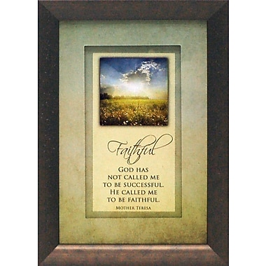 Artistic Reflections God Has Not Called Me To Be Successful by Brett West Framed Graphic Art