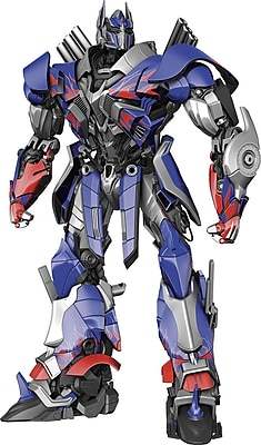"""""RoomMates """"""""Transformers: Age of Extinction Optimus Prime"""""""" Peel and Stick Giant Wall Decal"""""" 1236043"