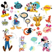 "RoomMates ""Mickey & Friends - Animated Fun"" Peel and Stick Wall Decal"