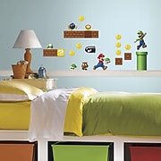"RoomMates ""Nintendo Super Mario Build a Scene"" Peel and Stick Wall Decal"