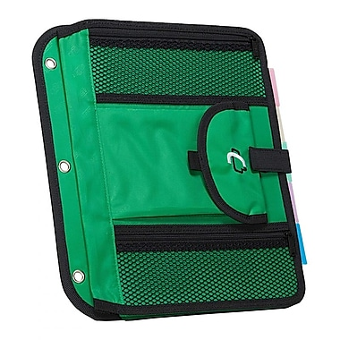 Case It ACC-21 5-TAB Expanding File, Green