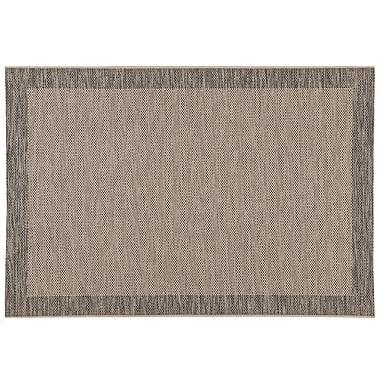 Balta Rugs 47005950.240305 8'x10' Indoor/Outdoor Rug, Black