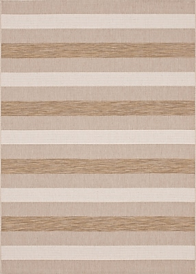 Balta Rugs 47009058.160225 5'x8' Indoor/Outdoor Rug, Brown