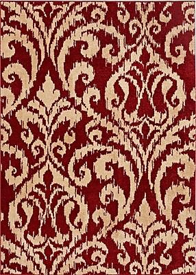 Balta Rugs 26222010.240305 8'x10' Indoor Area Rug, Red