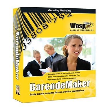 Wasp® Barcode Maker Pro, 1 User License
