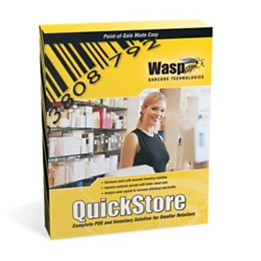 Wasp® QuickStore Enterprise, 2 Store Licenses and 1 Checkout