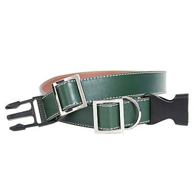 Royce Leather Large-Extra Large Two-Toned Dog Collar, Tan