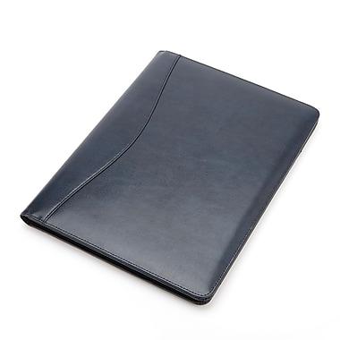 Royce Leather® Executive Writing Padfolio, Blue