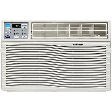 Sharp® AFQ80VX Energy Star 8000 BTU Window Air Conditioner With Rest Easy Remote Control, White