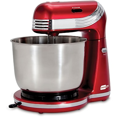 StoreBound Dash™ Go 250 W Everyday Petite Stand Mixer, Red