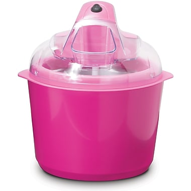 StoreBound Dash™ Greek Fro-Yo Ice Cream Maker, Pink, 1.6 qt.