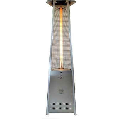 Lava Heat Italia Lava Lite KD Liquid Propane Gas Patio Heater, Stainless Steel Finish