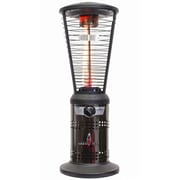 Lava Heat Italia Mini Ember Tabletop Liquid Propane Patio Heater, Gun Metal Finish