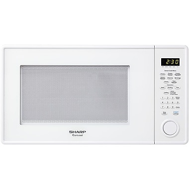 Sharp® Carousel 1.3 Cu. Ft. 1000 W Countertop Microwave Oven, White