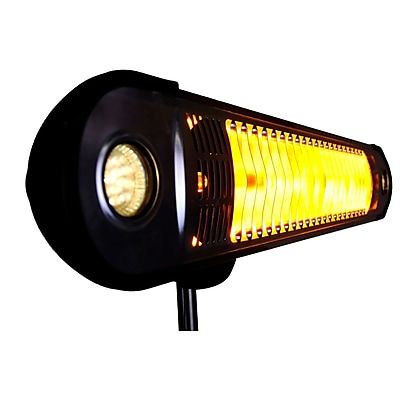 Lava Heat Italia Wall-E Infra-Red Electric Patio Heater, Heritage Bronze Finish