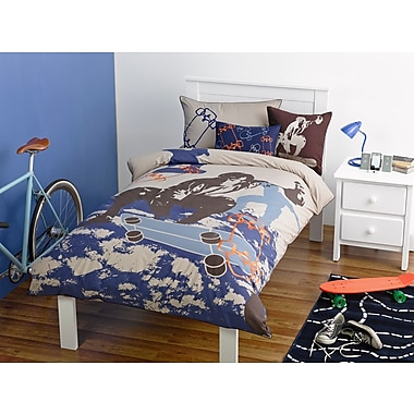 Maholi KIDS Skater Duvet Cover Set, Full/Queen