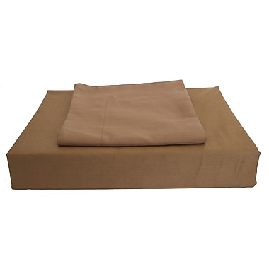 Maholi Sweet Slumber Bed Skirt, 230 Thread Count, Crib, Chocolate