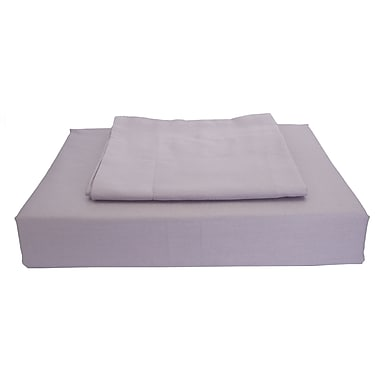 Maholi Sweet Slumber Bed Skirt, 230 Thread Count, Crib, Purple