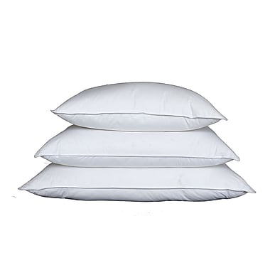 Royal Elite European Down Pillow, 233 Thread Count, King, 26 Ounces