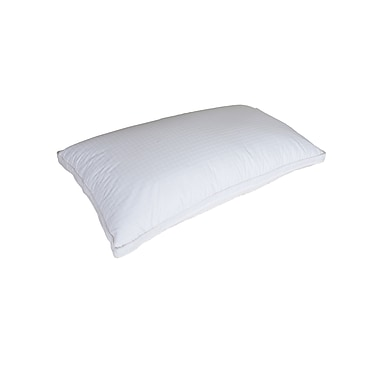 Royal Elite White Goose Down Pillow, 400 Thread Count, King, 24 Ounces