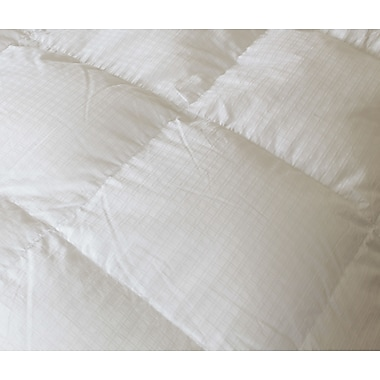 Royal Elite European White Down Duvet, 400 Thread Count, Queen, 40 Ounces