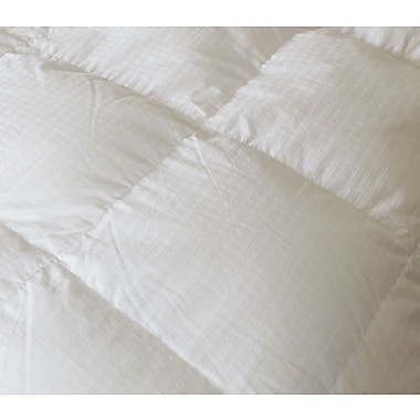 Royal Elite Hutterite White Down Duvet, 400 Thread Count, Double, 22 Ounces