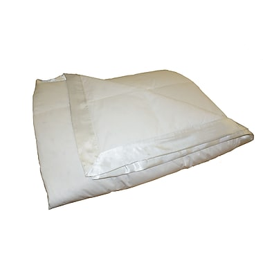 Royal Elite Down Blanket, 233 Thread Count, Heavy, Twin, White, 13 Oz.