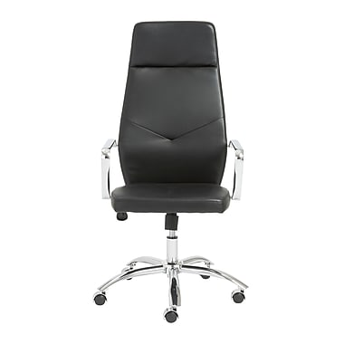 Euro Style™ Napoleon Leather High Back Office Chairs