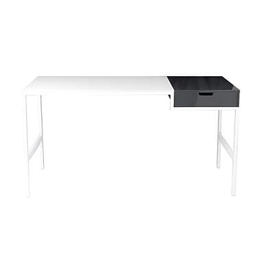 Eurostyle Diva Writing Desk, White (09813WHT)