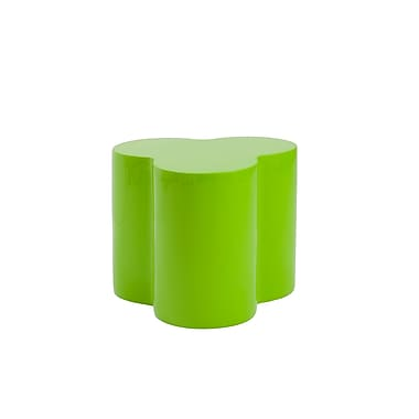 Euro Style™ Sloan Fiberglass Stool, High Gloss Green