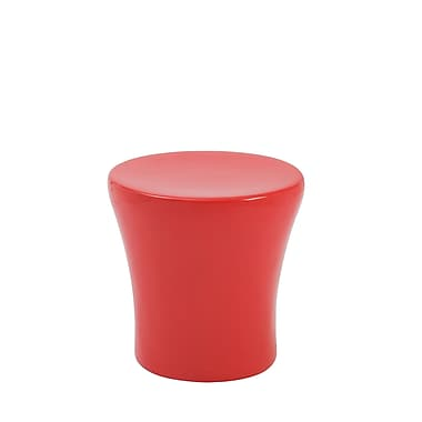 Euro Style™ Takis Fiberglass Stool, High Gloss Red