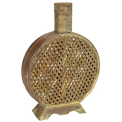 Nearly Natural 524 Open Weave Decorative Vase