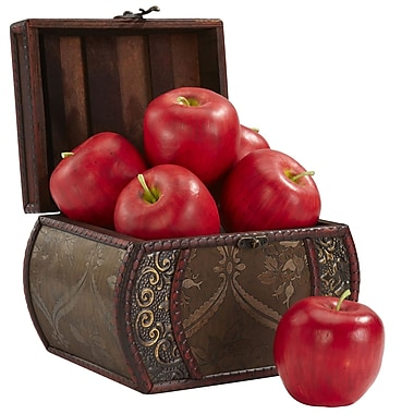 Nearly Natural 2139 Faux Apple Set of 6