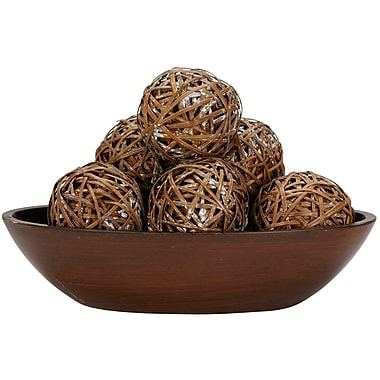 Nearly Natural 3023 Decorative Balls Set of 6