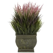 Nearly Natural Mixed Grass Plant in Pot (4124)