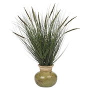 Nearly Natural 4730 Grass Desk Top Plant in Decorative Vase