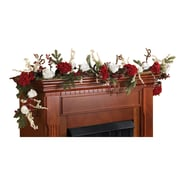 "Nearly Natural 4900 72"" Hydrangea with White Roses Garland"