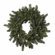 """Nearly Natural 4915 30"""" Pine Pinecone Wreath, Green"""