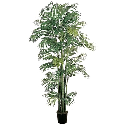 Nearly Natural 5003 7' Areca Silk Palm Tree in Pot
