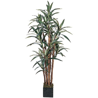 Nearly Natural 5006 5' Yucca Silk Tree in Pot