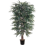 Nearly Natural 5018 5' Weeping Ficus Silk Tree in Pot