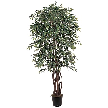 Nearly Natural 5020 6' Smilax Silk Tree in Pot