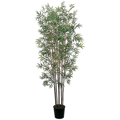 Nearly Natural 5022 6' Mini Bamboo Silk Tree in Pot