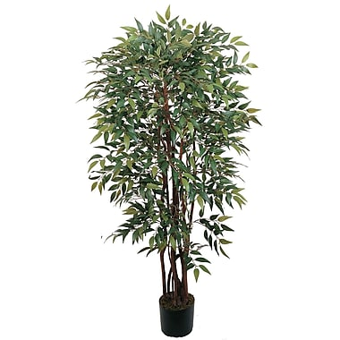 Nearly Natural 5081 4' Smilax Silk Tree in Pot