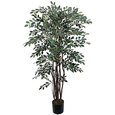 Nearly Natural 5082 4' Ruscus Silk Tree in Pot